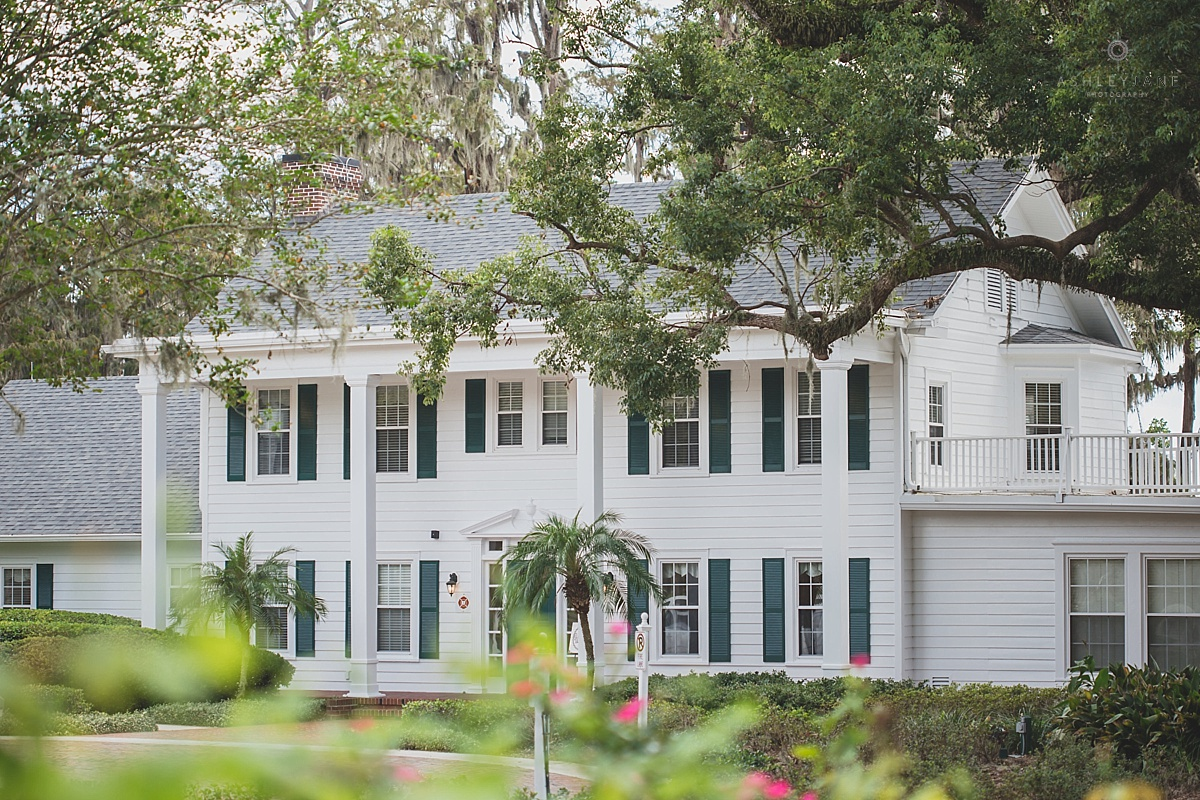 Cypress Grove Estate House shot by Orlando Wedding Photographer