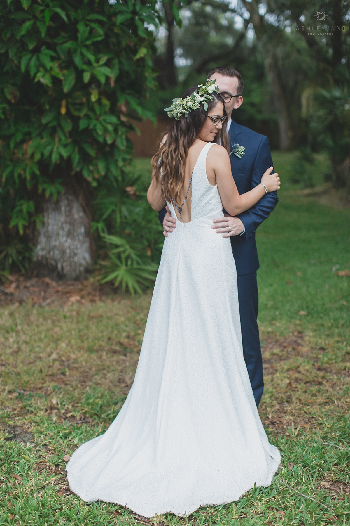 Eclectic Boho Backyard Wedding Orlando Photographer