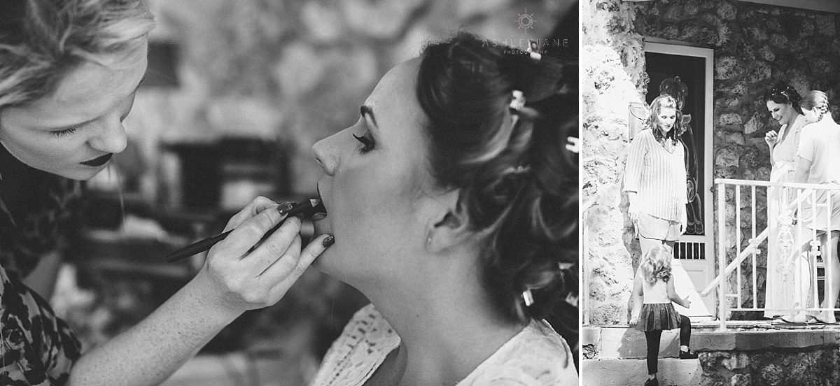 Chic Black & White Bellemoor Plantation Wedding shot by Orlando Wedding Photographer