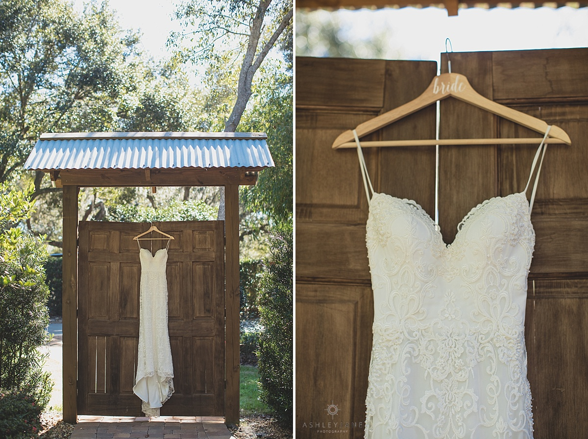 Dusty Blue Rustic Wedding at Club Lake Plantation shot by Orlando Wedding Photographer