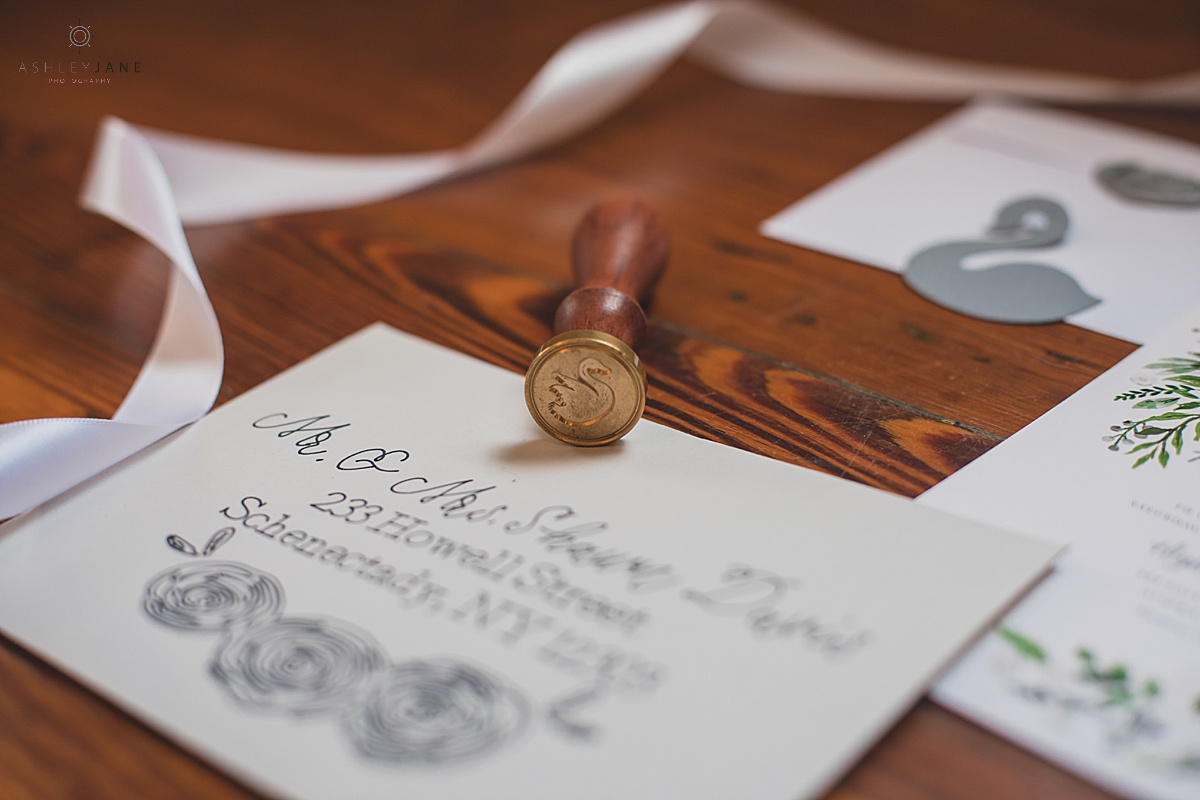 Invitation suite shot by orlando wedding photographer